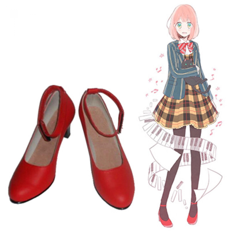 Uta no Prince-sama Nanami Haruka PU Leather Cosplay Shoes