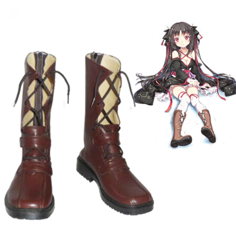 Unbreakable Machine-Doll Cosplay Boots Yaya Cosplay Shoes