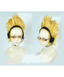 Boku no Hero Academia Fumikage Tokoyami Short Golden Styled Cosplay Wig