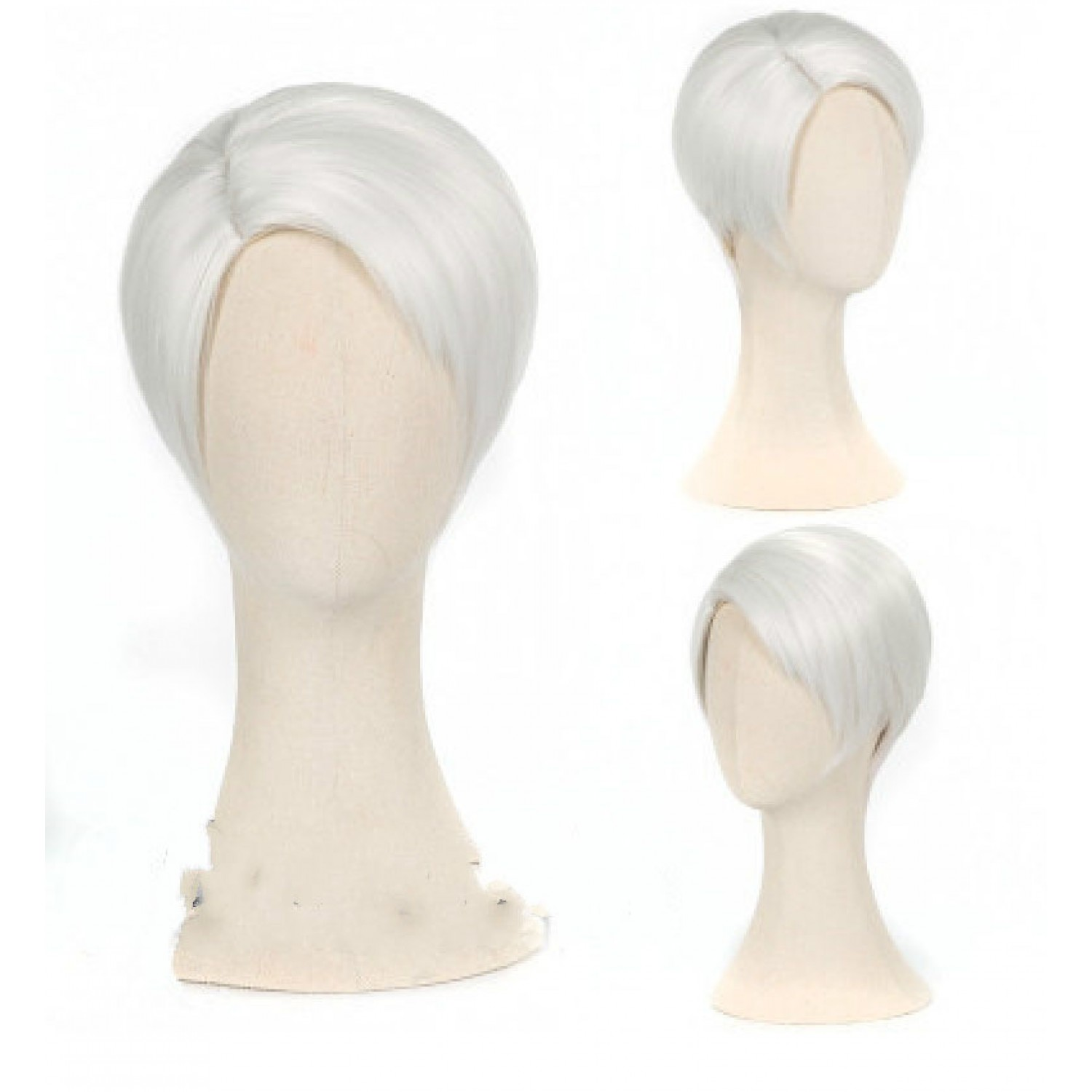Land of the Lustrous Cairngorm White Straight Japan Anime Cosplay Wig