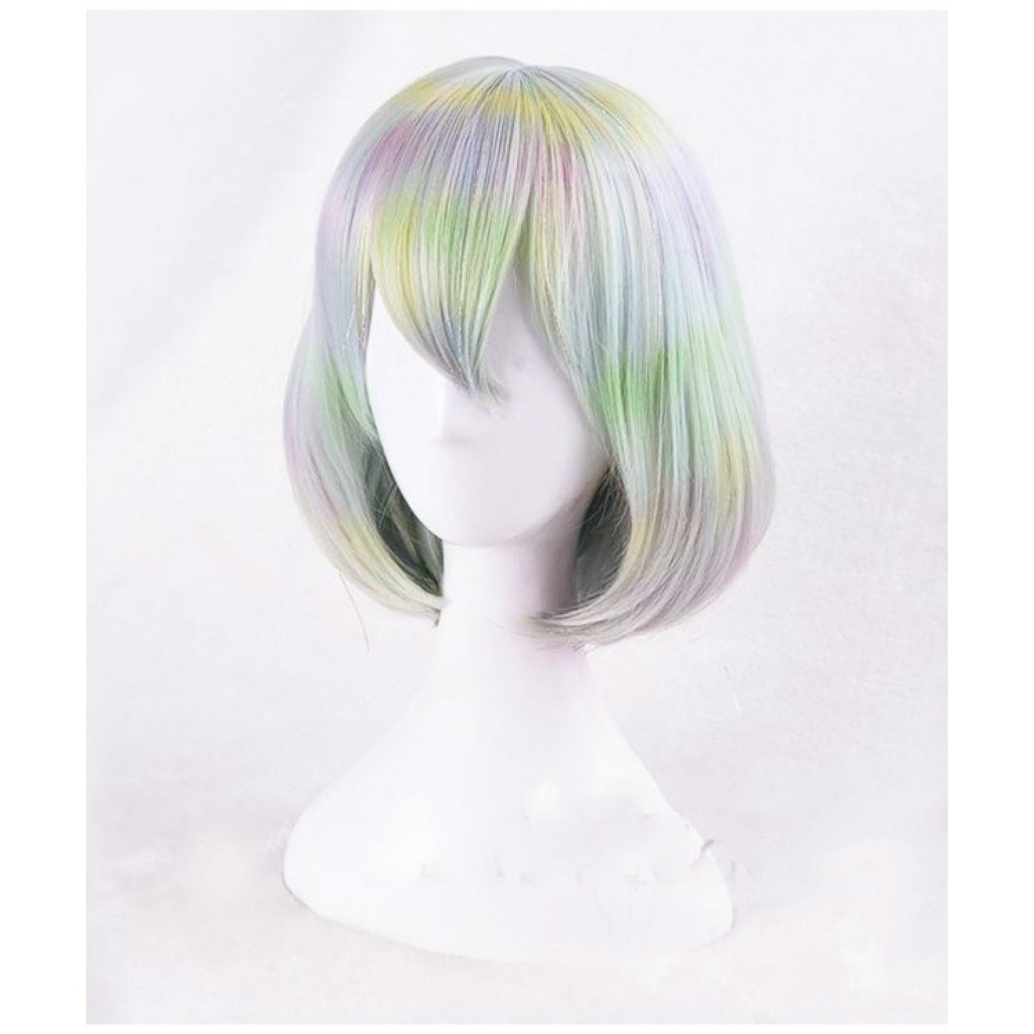 Land of the Lustrous Diamond Short Straight Bob Cosplay Wig