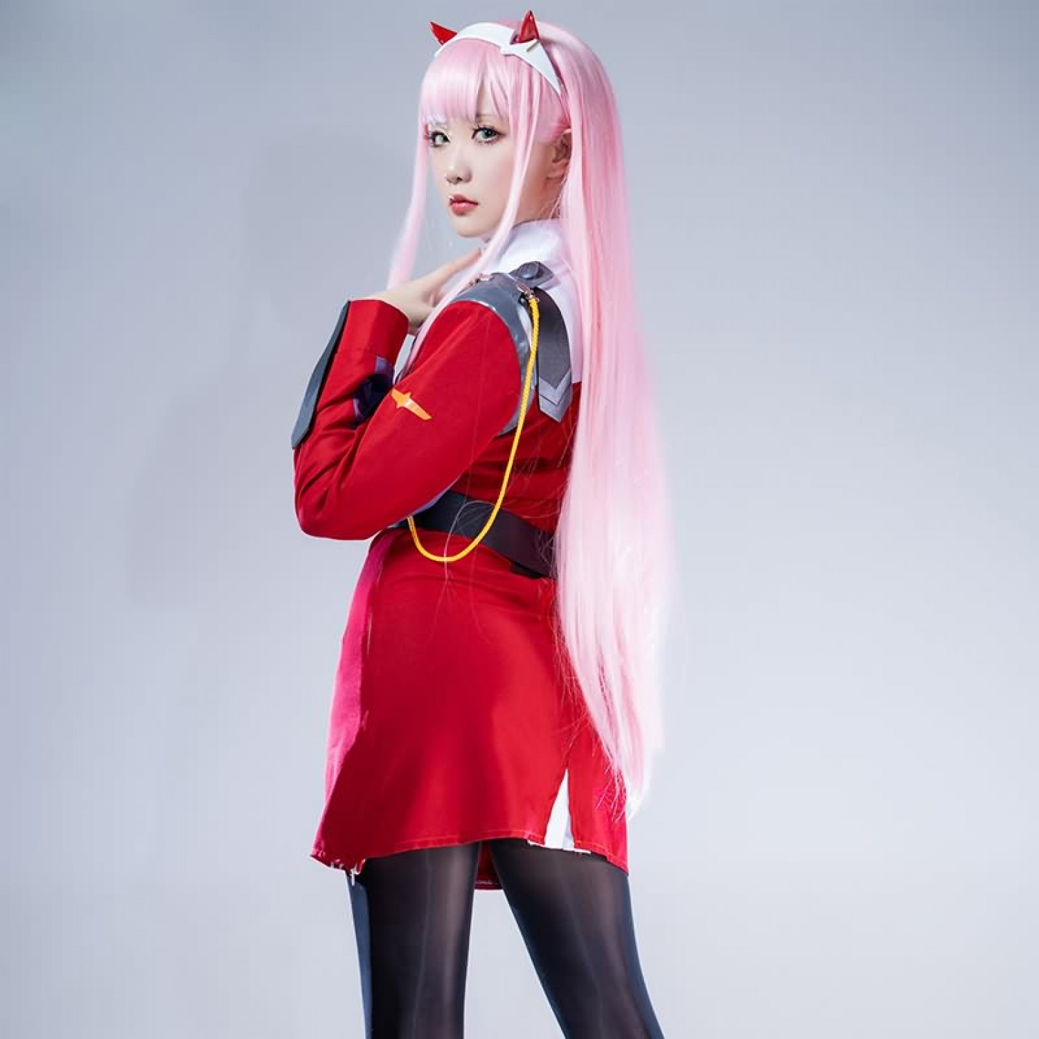 Zero Two cosplay Costume DARLING in the FRANXX Party Costume