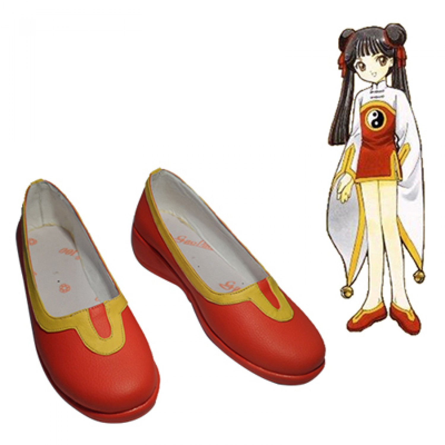 Cardcaptor Sakura RI MEIRIN PU Leather Cosplay Shoes