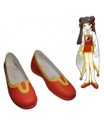 Cardcaptor Sakura RI MEIRIN PU Leather Cosplay Shoes