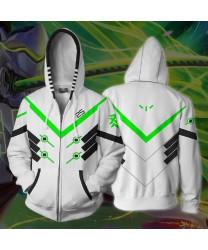 Custom Overwatch OW Jack Morrison Shimada Genji Reaper Gabriel Reyes Genji Sweatshirt Hoodies