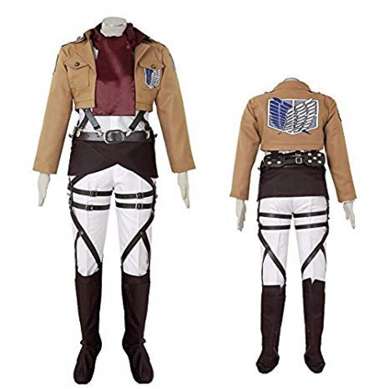 Attack on Titan Mikasa Ackerman Survey Corps Cosplay Costume