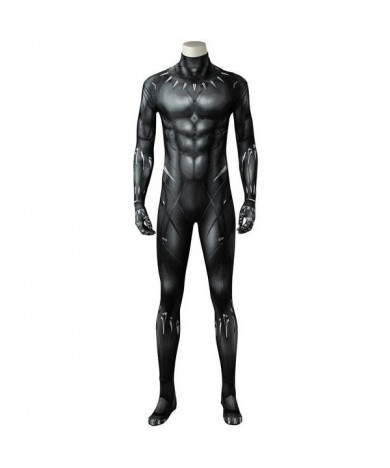 Black Panther Black Panther jumpsuit 3D Printed Cosplay Costume