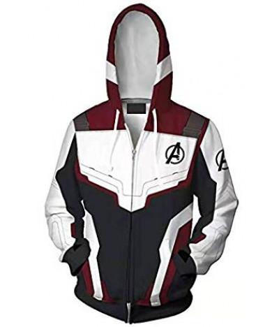 Avengers 4 Endgame Cosplay Sweatshirt Hoodie Custome