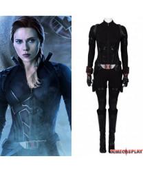Avengers 4 Endgame Black Widow Cosplay Costume