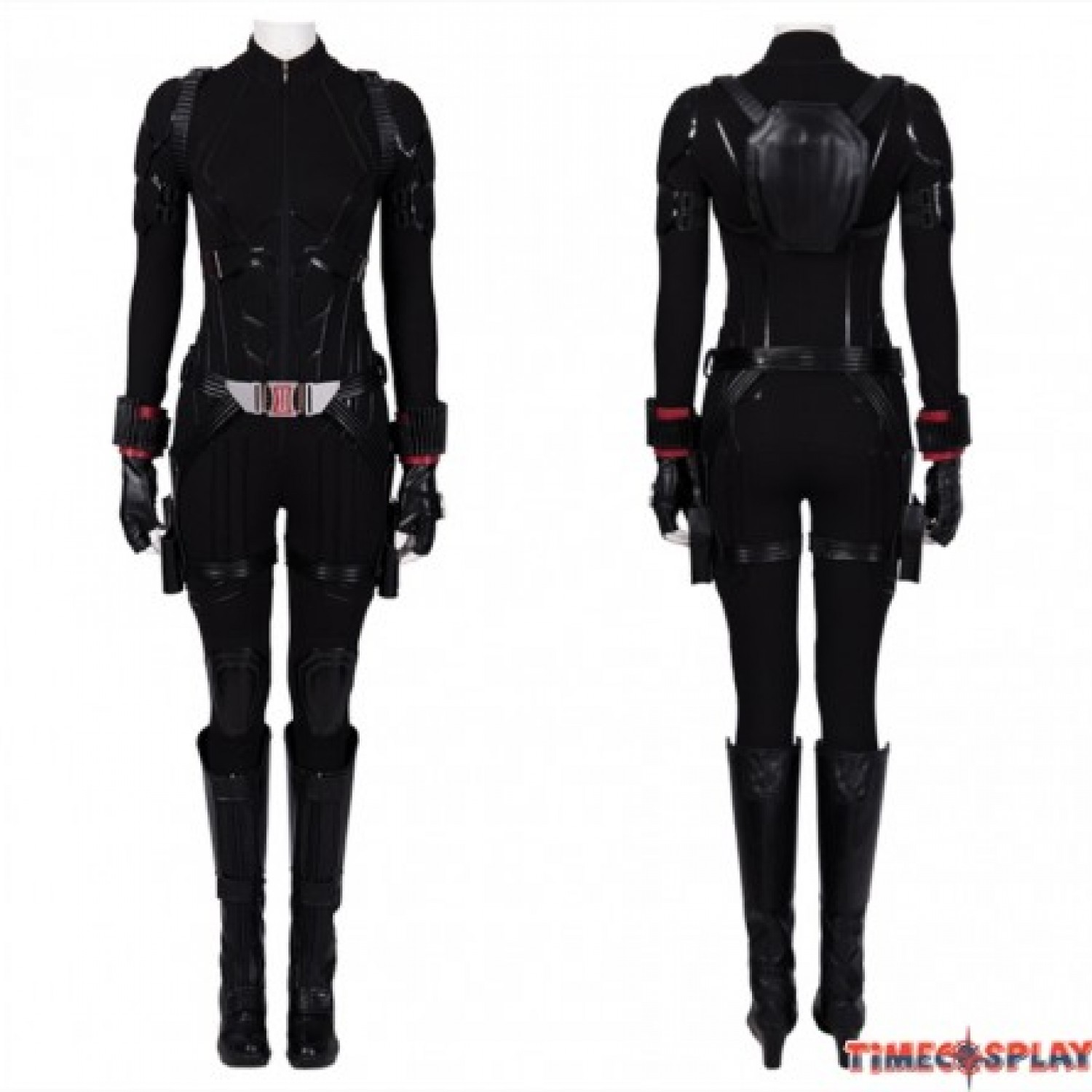 Avengers 4 Endgame Black Widow Cosplay Costume