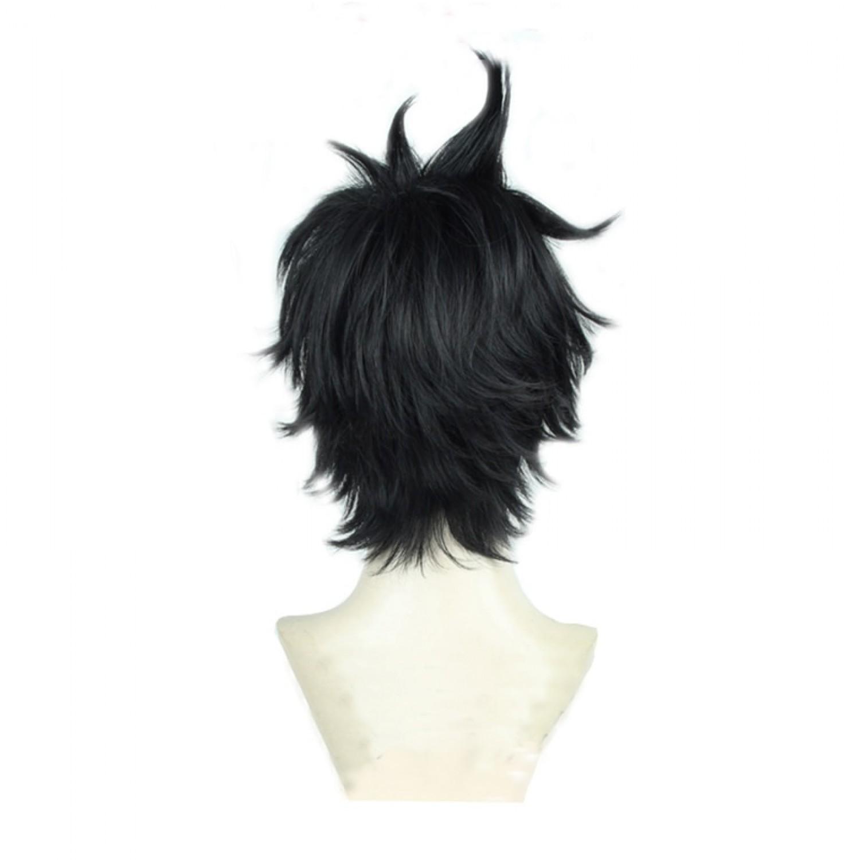 Black Clover Yuno Black Short Cosplay Wig