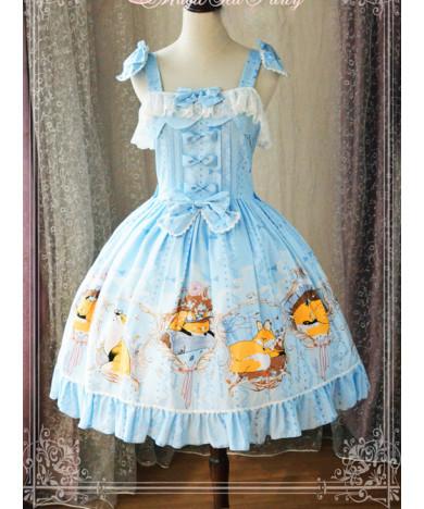 Autumn Classic Lolita Dress Sling Lolita Skirt