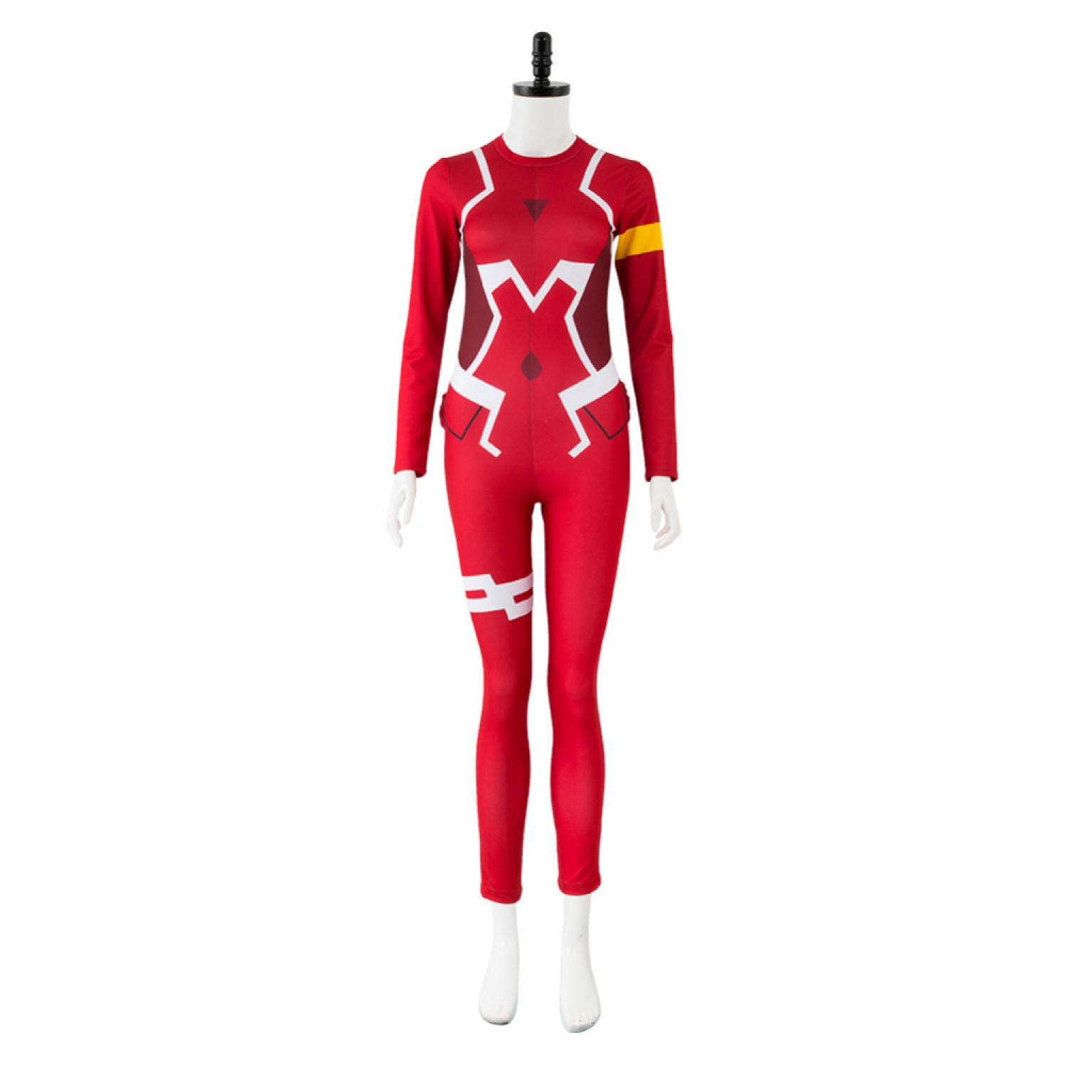 DARLING in the FRANXX Code 002 Zero Two Pilot Red Jumpsuit Cosplay Costume