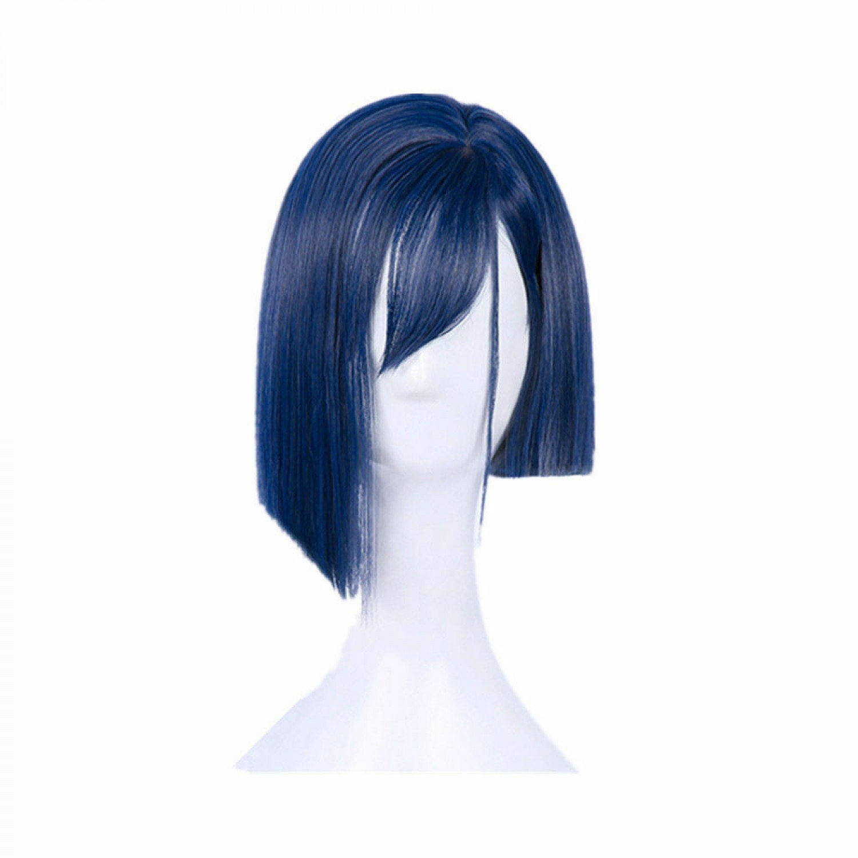 DARLING in the FRANXX 015 ICHIGO Short Blue Cosplay Wig