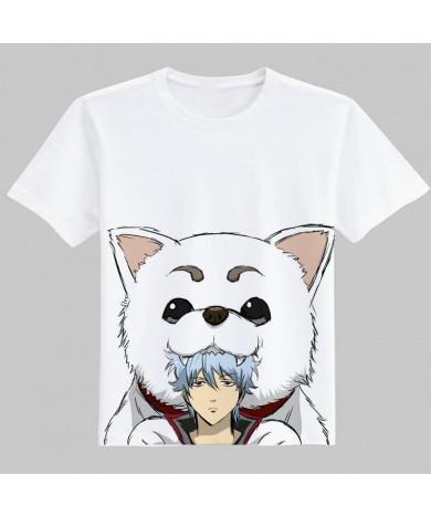Gintama Sadaharu O Neck Print Cotton T-Shirt