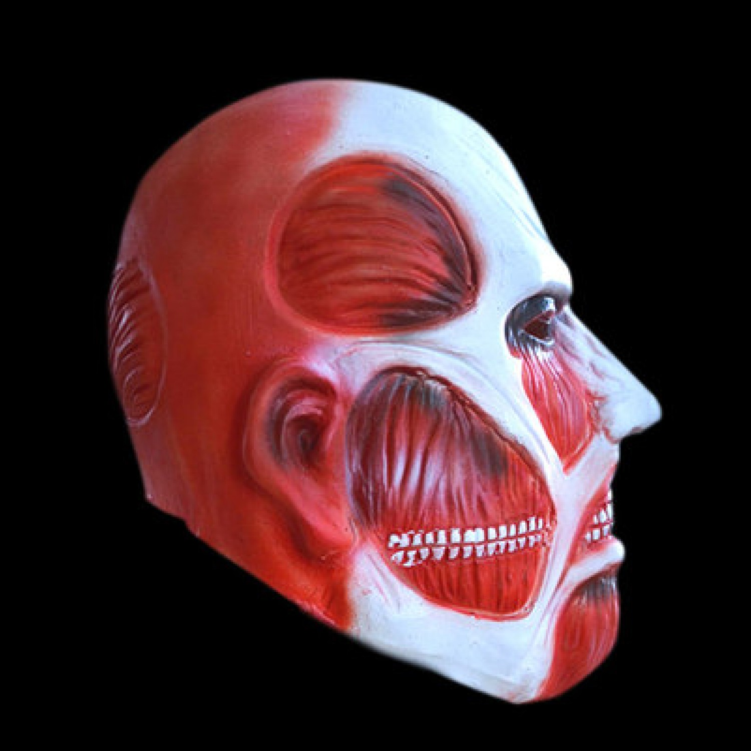 Attack on Titan Cosplay Mask Shingeki no Kyojin Helmet Scary Latex Masks