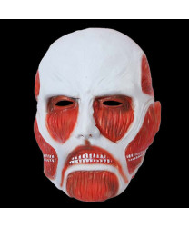 Attack on Titan Cosplay Mask Shingeki no Kyojin Helmet Scary Latex Masks