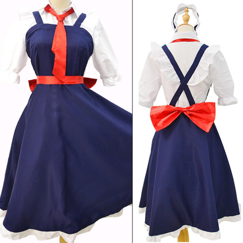 Miss Kobayashi's Dragon Maid Toru Maid Skirt Cosplay Costume