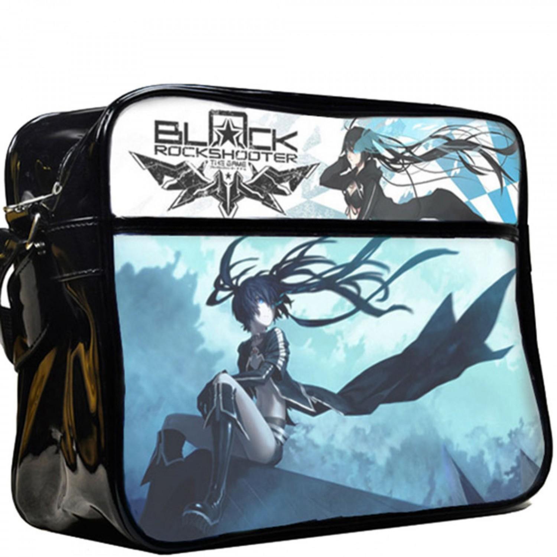 Black Rock Anime Messenger Shooter Bags