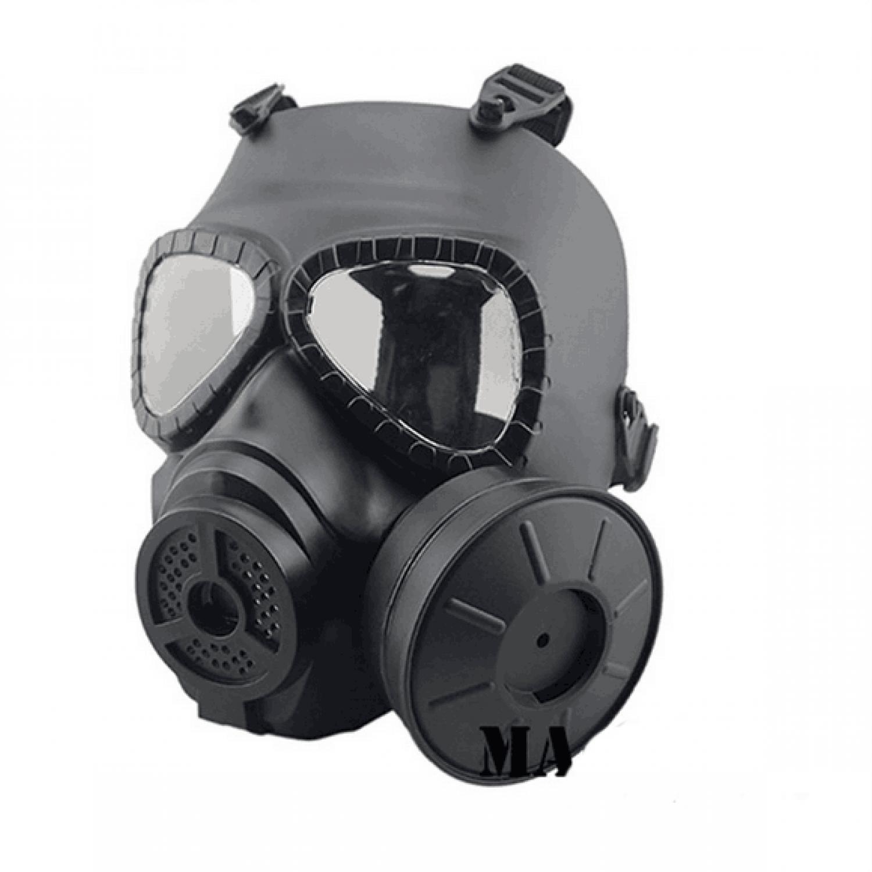 Dramatical Murder Clear Black Gas Mask Cosplay Prop