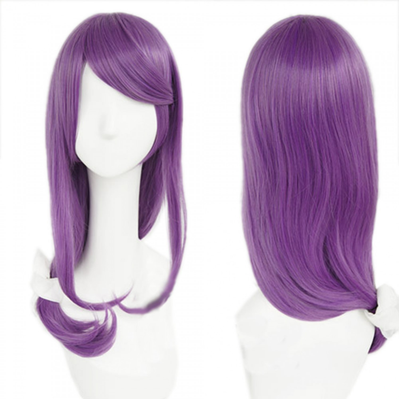 Tokyo Ghoul Sendasly Ash Purple Long Straight Anime Styled Cosplay Wig