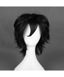 Arcana Famiglia Luca Black Short Cosplay Wig