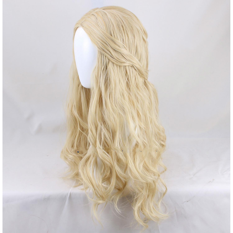 The Hobbit Galadriel Artanis Nerwen Light Gold Long Cosplay Wig