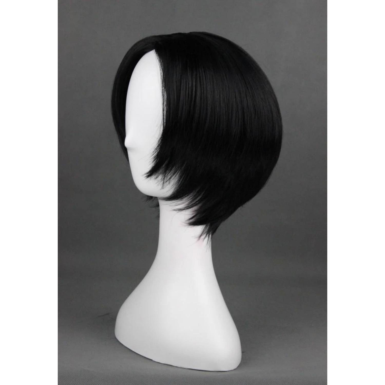 Hoozuki No Reitetsu Short Black Anime Cosplay Wig