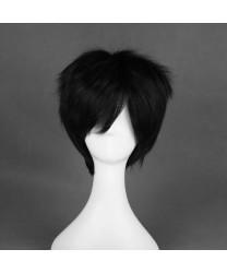 Arcana Famiglia Jolly Black Short Cosplay Wig