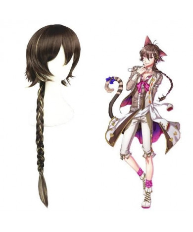 100 Sleeping Princes & the Kingdom of Dreams Cheshire Cat Cosplay Wig