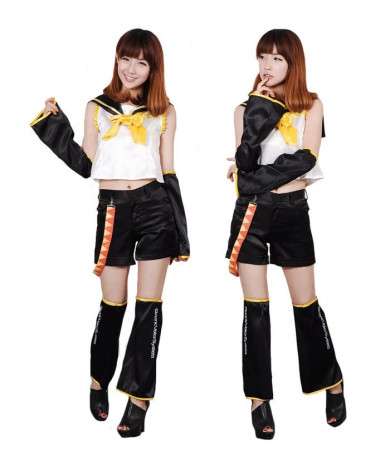 Vocaloid 5 Kagamine Rin Cosplay Costume