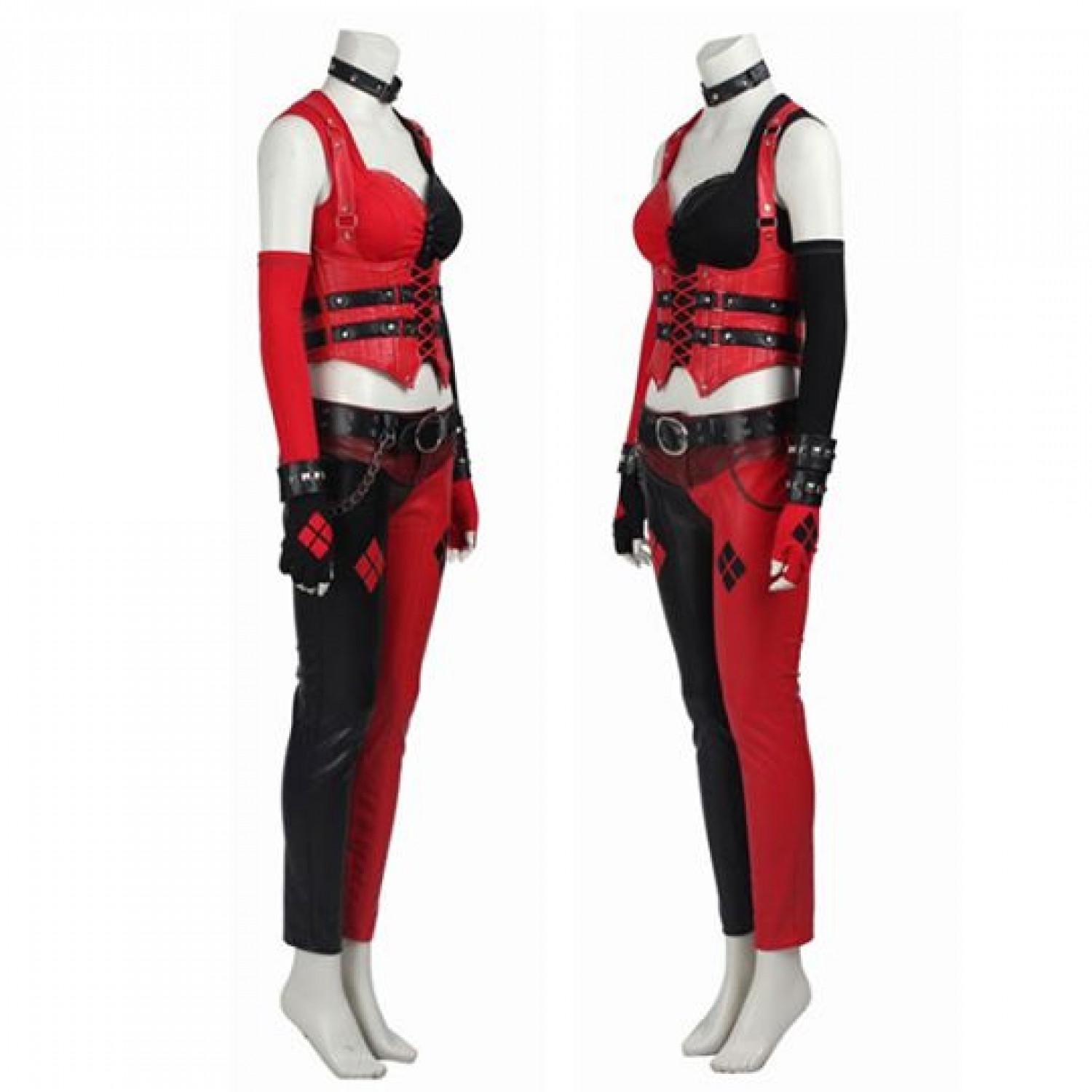 The Batman Adventures Harley Quinn Cosplay Costume