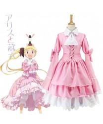 Alice Kashimura Sana Pink Skirt Cosplay Costume