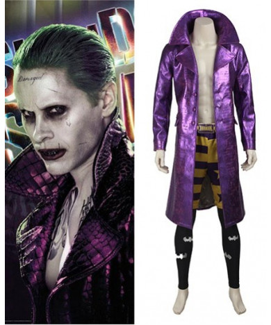 Suicide Squad Joker Cosplay Costume