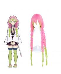 Demon Slayer Kanroji Mitsuri Cosplay Hair Wig