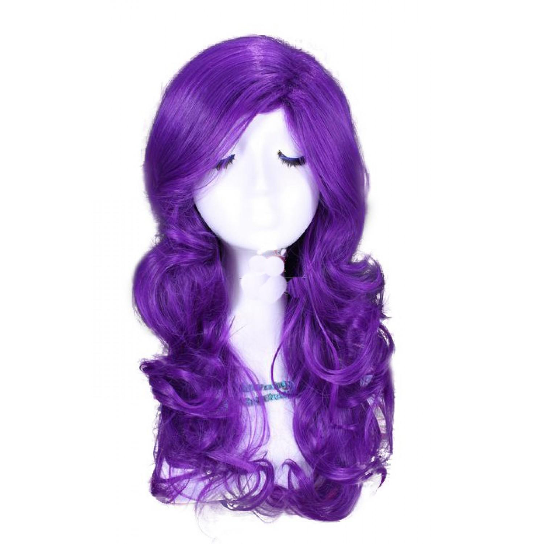 My Little Pony Rarity Long Purple Wavy Cosplay Wigs