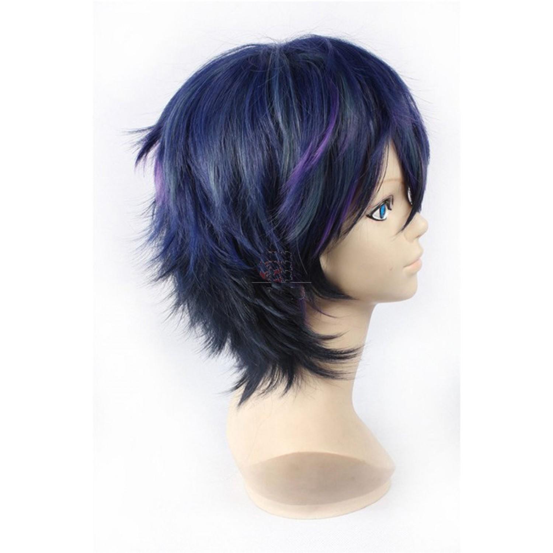 Black Bullet Satomi Rentaro Cosplay Wig