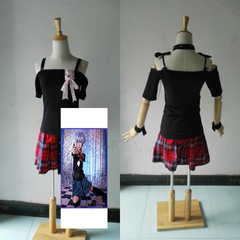 Assassination Classroom Shiota Nagisa Genderbend Girl Cosplay Costume