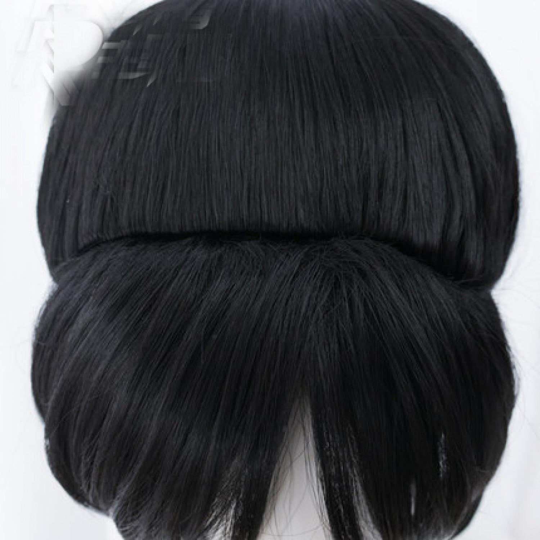Wreck It Ralph Vanellope von Schweetz Black Cosplay Wig