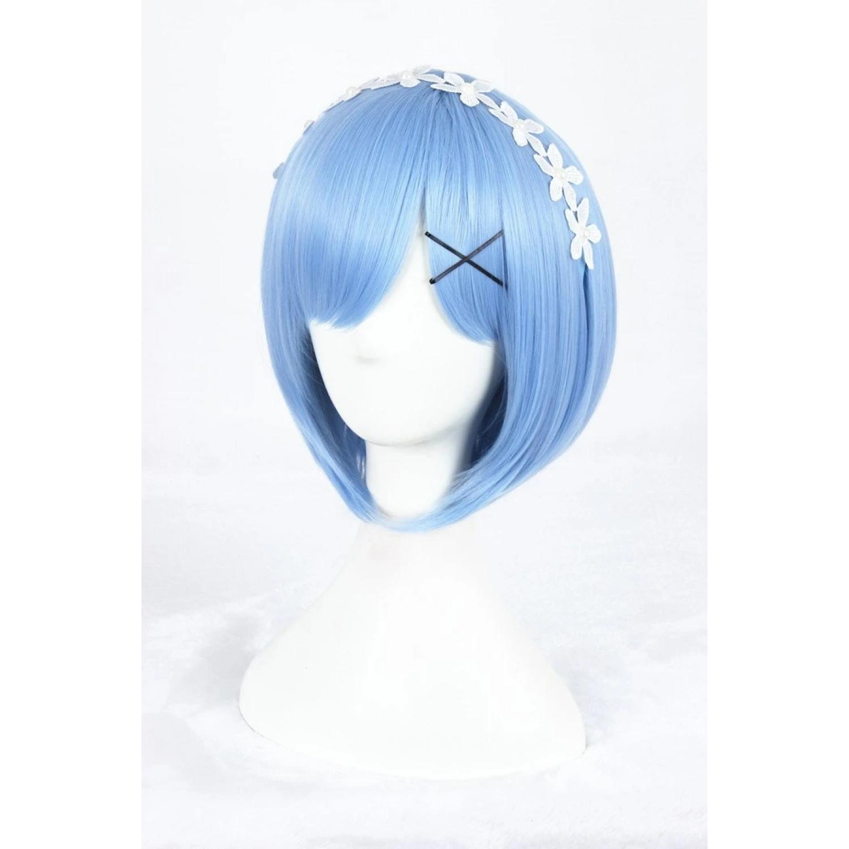 Zero kara Hajimeru Isekai Seikatsu Rem Cosplay Wig