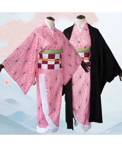 Demon Slayer Nezuko Kamado Cosplay Costume