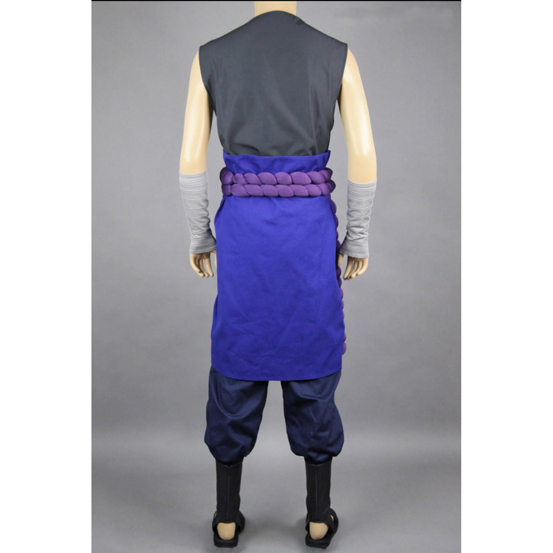 Naruto shippuden unchiha sasuke cosplay costume