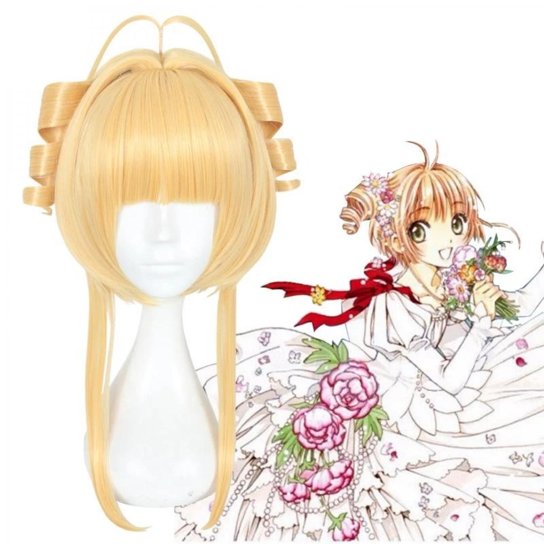 Card Captor Sakura Kinomoto Sakura Cosplay Wig