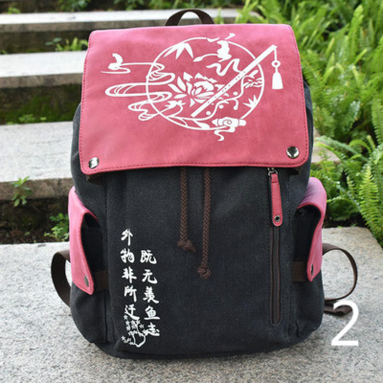 Midoriya Izuku Attack on Titan Demon Slayer Canvas School Student Bag