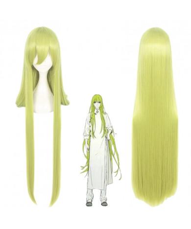 Fate Grand Order Enkidu Green Long Cosplay Wig 100 cm