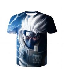 Naruto 3D Printed Short Sleeve T-Shirt