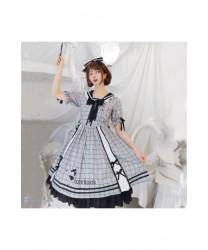 Summer Lolita dress uniform female college style dress