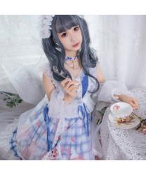 Afternoon cat OP Sweet Lolita dress