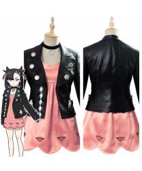 2020 Pokemon Sword Shield Marnie Cosplay Costume Dress