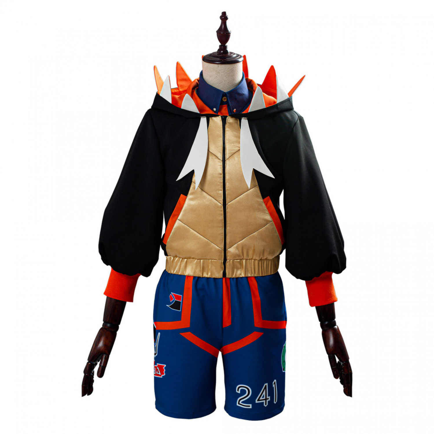 Pokemon Sword Shield Raihan Cosplay Costume Roleplay Costume